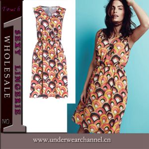 New Design Fashion Lady Casual Dress (TONY8978) pictures & photos