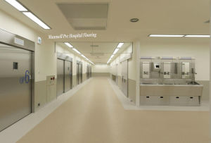 Homogeneous PVC Flooring for Medical and Hospital Floor with 3mm pictures & photos