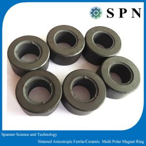 Ferrite High Performence Permanent Magnet Rings for Micro Otor pictures & photos