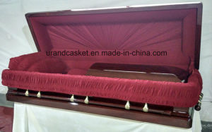 High Gloss Velvet Interior Best Seller Casket