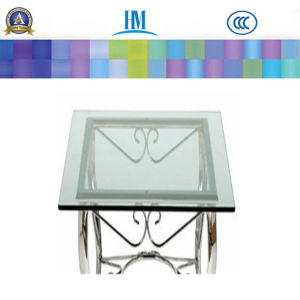 Clear/Stained Sheet Glass for Glass Dining Table Top pictures & photos