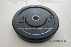 Olympic Rubber Barbell Plates pictures & photos