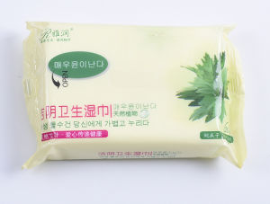 Disposable Spunlance Nonwoven Adult Wet Tissue Wipe for Cleaning pictures & photos