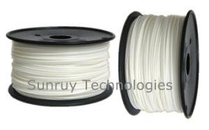 3.00mm Diameter White PLA 3D Filament for 3D Printers pictures & photos
