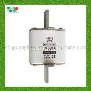 NH3 (NT3) 500A H. R. C Low-Voltage Fuse pictures & photos