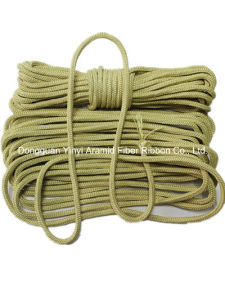 6mm High Temperature Resistant Aramid Roller Rope pictures & photos