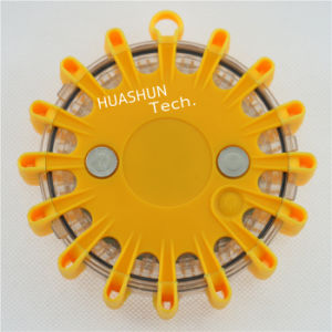 Yellow Rechargeable LED Warning Light