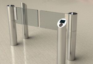 Access Control Full Automatic Swing Barrier Gate Th-Sbg201 pictures & photos