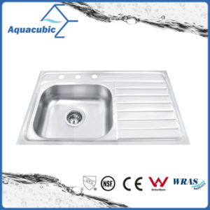 Morden Kitchen Single-Bowl Moduled Sink (AS8050DL) pictures & photos
