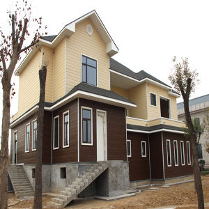 Two Floor Prefab Steel Frame Light Steel Villa House pictures & photos