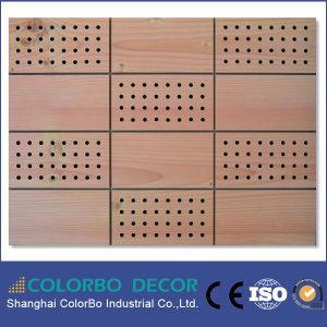 Wall Decorative Board Wooden Acoustic Panel pictures & photos