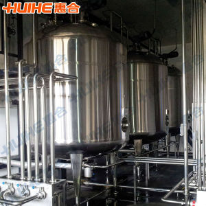 Food Grade Jacketed Fermentation Tank (Stainless Steel) pictures & photos
