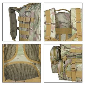 Combat Range Detachable Army Survival Camouflage Bug out Hunting Bag/Backpack pictures & photos