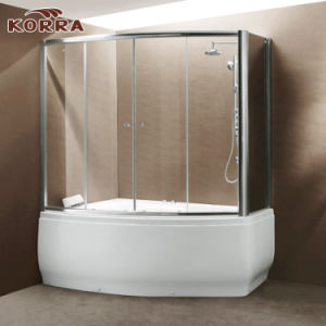 Massage Bathtub with Shower Panel and Shower Screen (K-560) pictures & photos