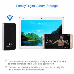 Wi-Fi Storage HDD Enclosure with Hard Drive 500GB/1tb/2tb pictures & photos