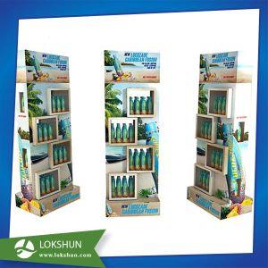 Soft Drink Cardboard Floor Displays Custom Cmyk Printed pictures & photos