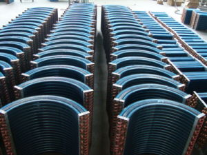 Fin Tube Fluorinated Refrigerants Copper Tube HVAC Condenser pictures & photos