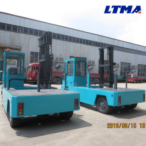 Best Forklift Brand 3 Ton Small Electric Side Loader Forklift pictures & photos