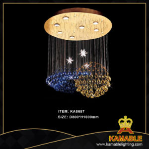 Hotel Project Custom-Made Crystal Ceiling Chandelier Light (KA8657) pictures & photos