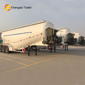 Cement Tank Trailer with Air Compressor pictures & photos