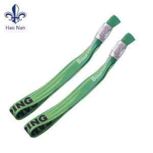Custom Cheap Price Event Fabric Wristband for Promotion pictures & photos