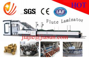 Automatic Flute Lamination Machine with High Speed Qtm1450 pictures & photos