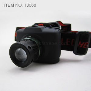 Power Zoom LED Headlamp (T3068) pictures & photos