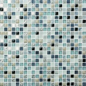 Elegant Cracked Glass Mosaic Tiles in Foshan (AJ2A1608) pictures & photos