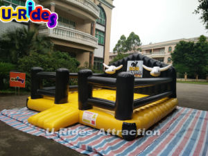 Inflatable Mechanical Bull Ride Games with mat pictures & photos