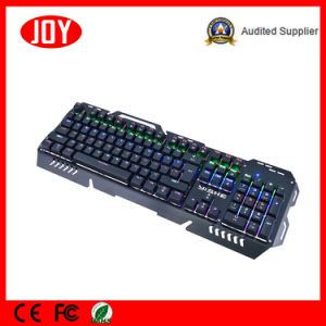 Hot Product Metal Waterproof Wired Mechanical Keyboard pictures & photos