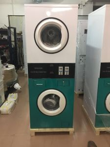 Self-Service Coin-Operated Stack Washer and Dryer Machine pictures & photos