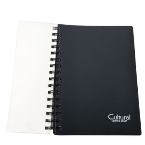 High Quality Customized Cover Logo Printed Spiral Notebook pictures & photos