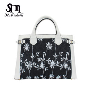 Newlest Design Embroider Flower Handbag for Woman pictures & photos