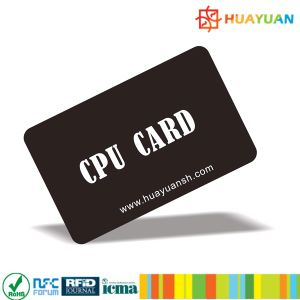 High encrypted FM1280 contact JAVA CPU smart Card pictures & photos