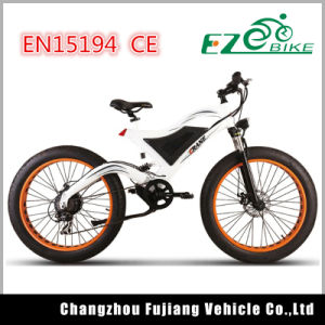 26X4.0 Fat Tires Electric Bike Full Suspension Bicycle pictures & photos