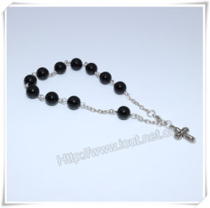 Glass Beads Finger Rosary and Cross Finger Rosary, New Style Beads Rosary (IO-CE071) pictures & photos