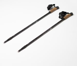 Anti-Shock 2 Section Nordic Walking Stick Set with Cork Handle (MW1019A) pictures & photos