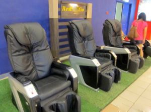 Public Place Euro Coins Operated Vending Machine Massage Chair pictures & photos