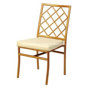 Aluminum Wedding Reception Furniture Rental Banquet Dining Chair (JY-J13) pictures & photos