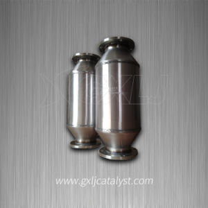 Fuel Gas Engine Exhaust Gas Purification Metal Honeycomb Catalytic Converter pictures & photos