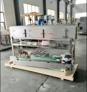 Semi-Auto Detergent Bottle Sleeve Shrink Labeler Steam Shrink Tunnel for PVC Pet Label pictures & photos