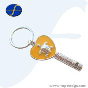 Cute Custom Souvenir Innovative Game Whistle Keychain (FTKC1880A) pictures & photos