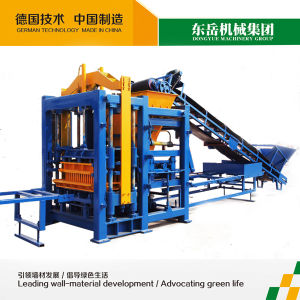 Qt8-15 Cement Concrete Hydraform Full Automatic Brick Making Machine pictures & photos