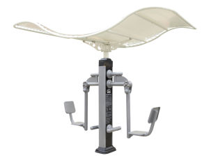 Nscc- Leg Stretcher Outdoor Fitness Equipment with Roof (JMA-18XO) pictures & photos