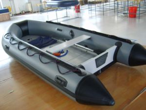 Inflatable Boat 2.7 M With 4-Stroke 4HP Outboard Engine pictures & photos