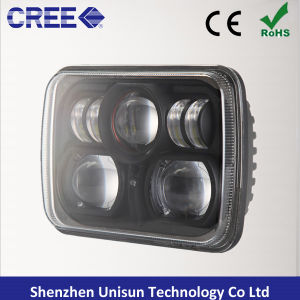 7X5 7inch 12V 88W Rectangle LED Truck Headlight pictures & photos
