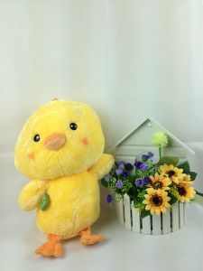 Yellow Custom Stuffed Toy Chicken/ Soft Doll /Plush Toy 35cm*28cm (XX01)