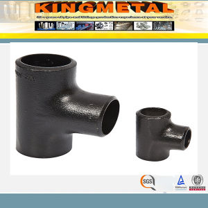 A234 Wpb/P12/P22/P91 Pipe Fittings Carbon Steel Tee pictures & photos