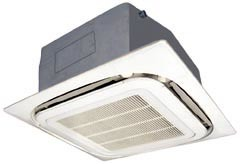 4-Way Ceiling Cassette Air Conditioner