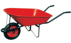 Red Tray Industry Carriage Hand Wheel Barrow Wb7200 pictures & photos